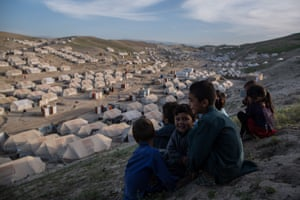 With ongoing fighting in Badghis, hundreds of families have left their villages to find safety in the provincial capital Qala-e-Naw. Here, children live in large camps; most of them are unable to return home.