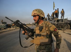 Iraqi forces prepare to launch the long-awaited operation to recapture Mosul