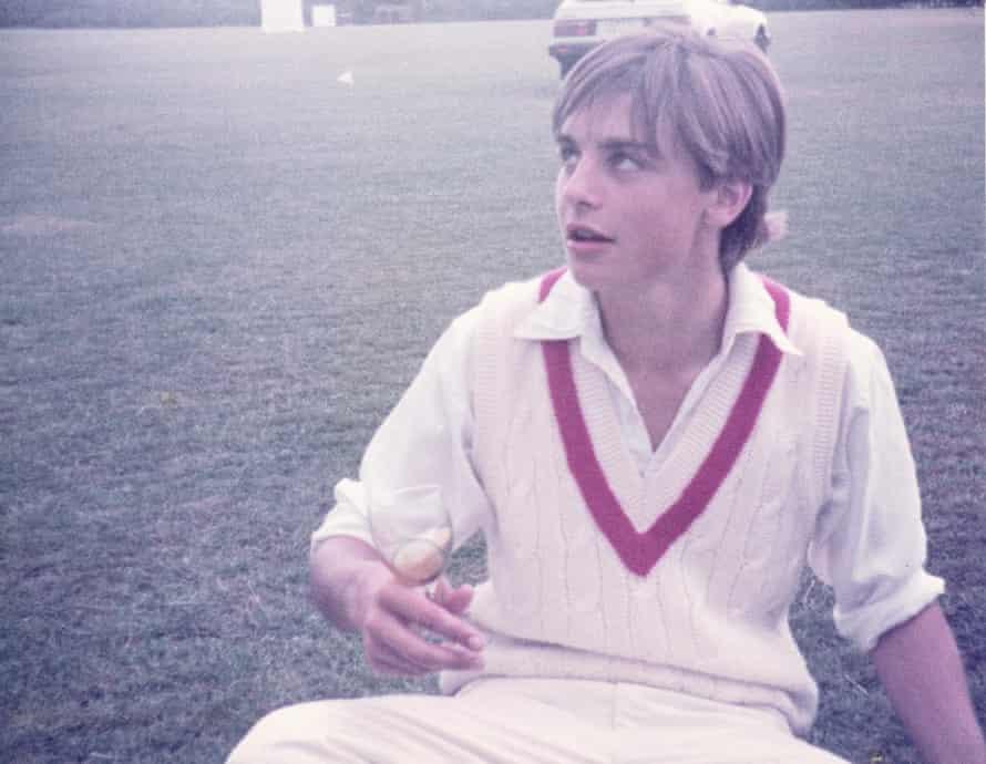 Beard at Radley College boarding school in 1984.