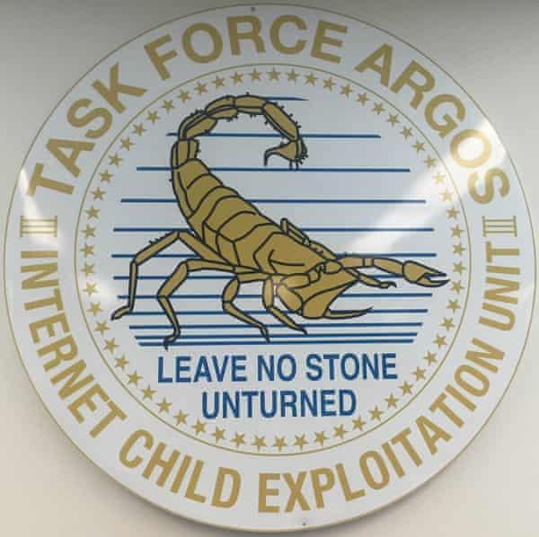 The logo for Taskforce Argos
