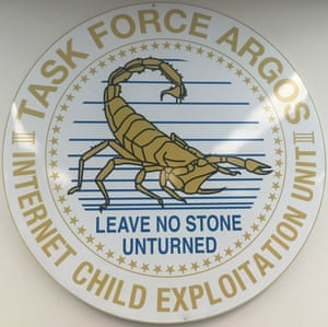 The logo for Taskforce Argos