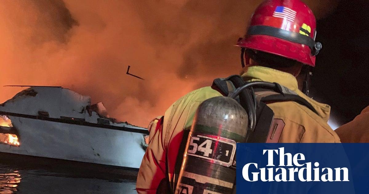 California boat fire: 25 bodies found after blaze off Santa Cruz Island