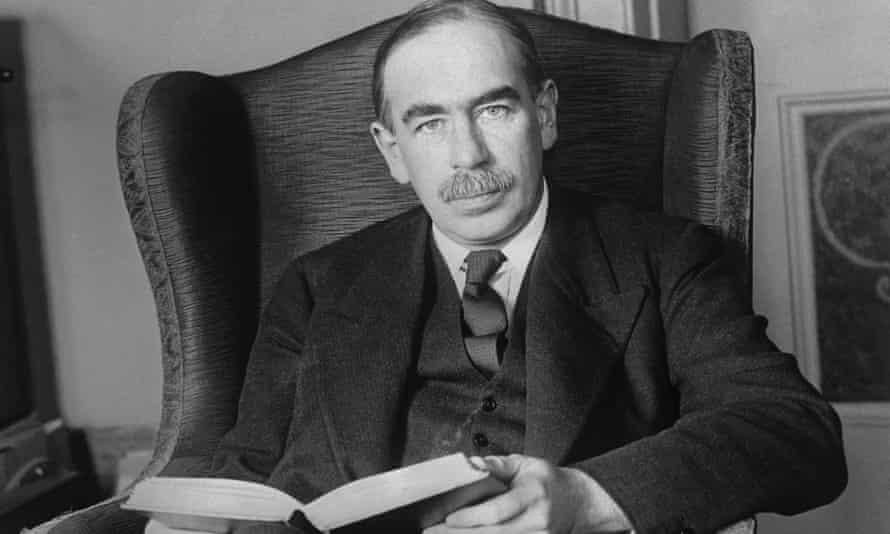 John Maynard Keynes pictured at his home in London in 1929.