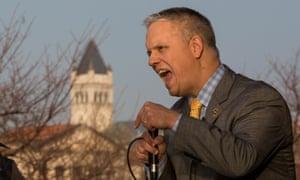 """Christopher Suprun, a Texas GOP """"faithless elector""""."""