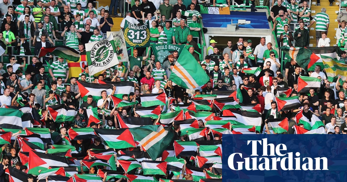 Celtic remove Palestinian flags from stadium before Scott Brown tribute