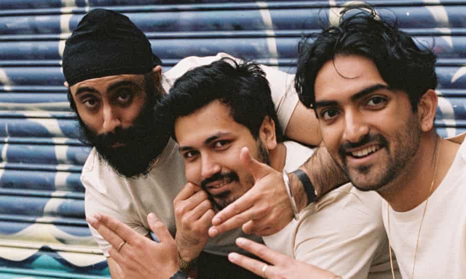 Yung Singh, Provhat and Rohan of the Daytimers collective.