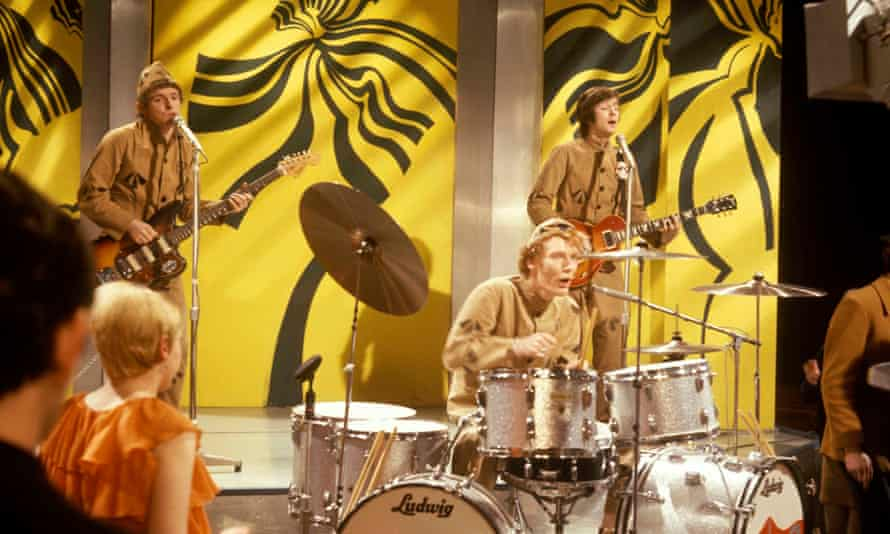 Cream performing in 1966.