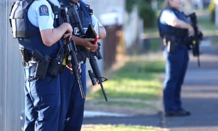 armed police in New zealand