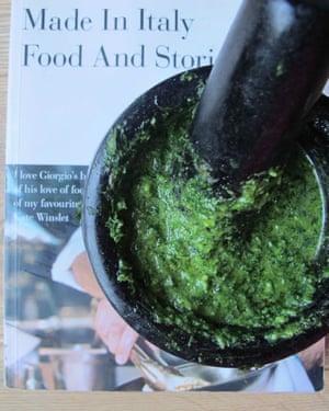 Giorgio Locatelli's salsa verde.