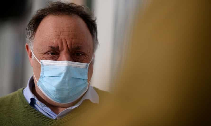 Belgian virologist Marc Van Ranst.