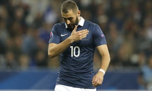 Karim Benzema last played for France in October's friendly against Armenia.
