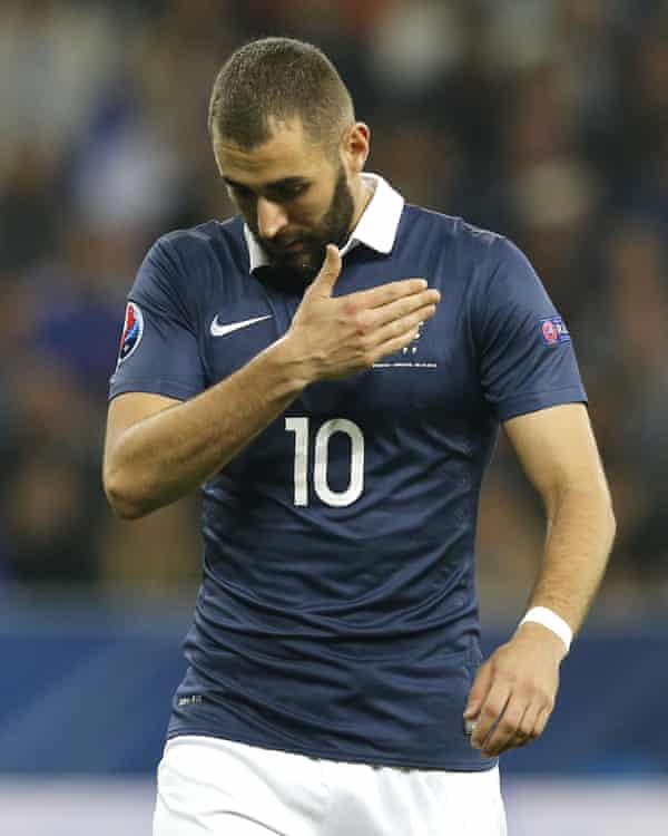 France's 'bad boy' Karim Benzema, who is out of the Euro 2016 squad.
