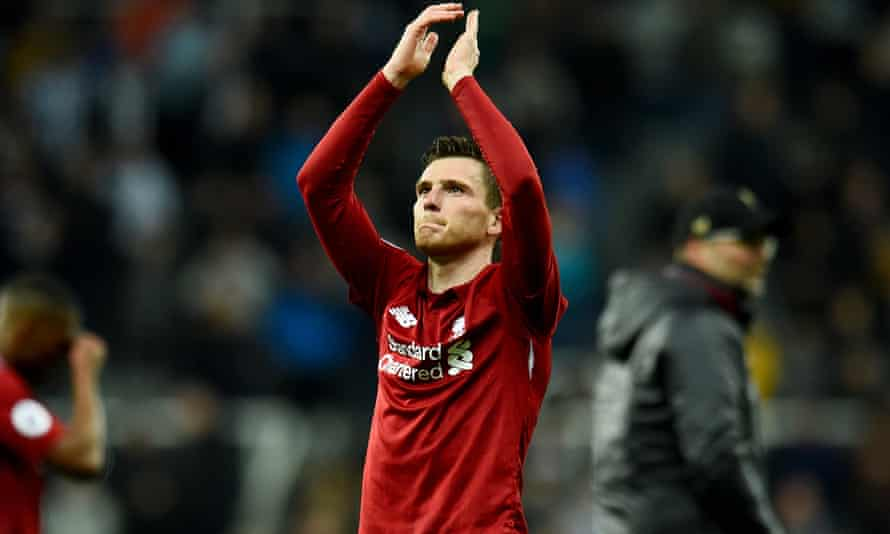 Andy Robertson, 'a nightmare to face'.