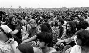 A still from Woodstock: Three Days That Defined a Generation