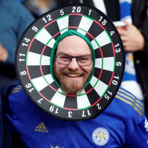 A Leicester City fan