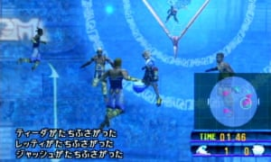 """Final Fantasy X. Roughly translated the text says """"can we not just play literally anything else?"""""""