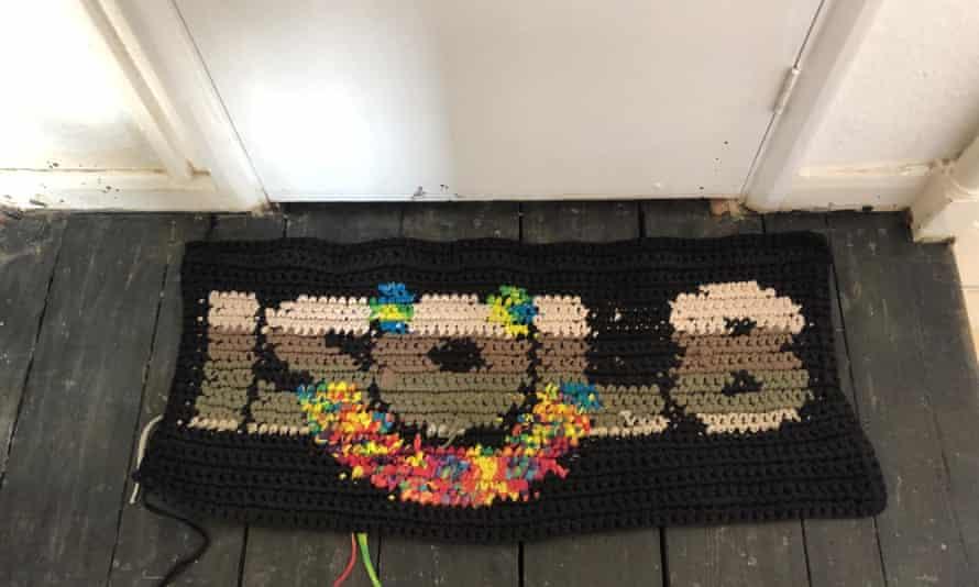 Liam Hodges ISOL8 door mat