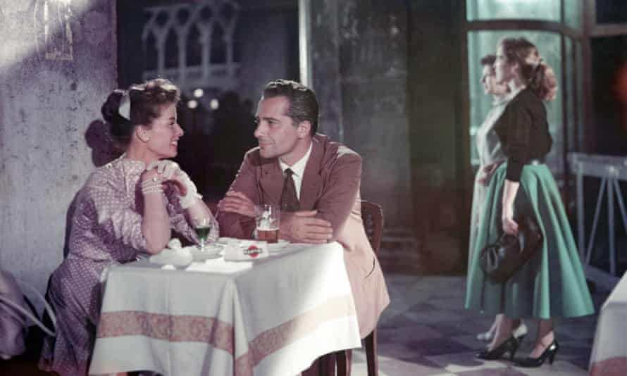 Katharine Hepburn and Rossano Brazzi in David Lean's Summertime.