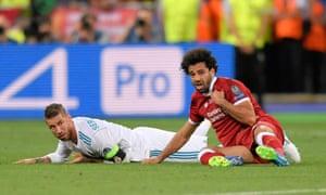 Mohamed Salah and Sergio Ramos.