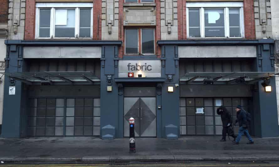 Fabric nightclub in Farringdon, London.