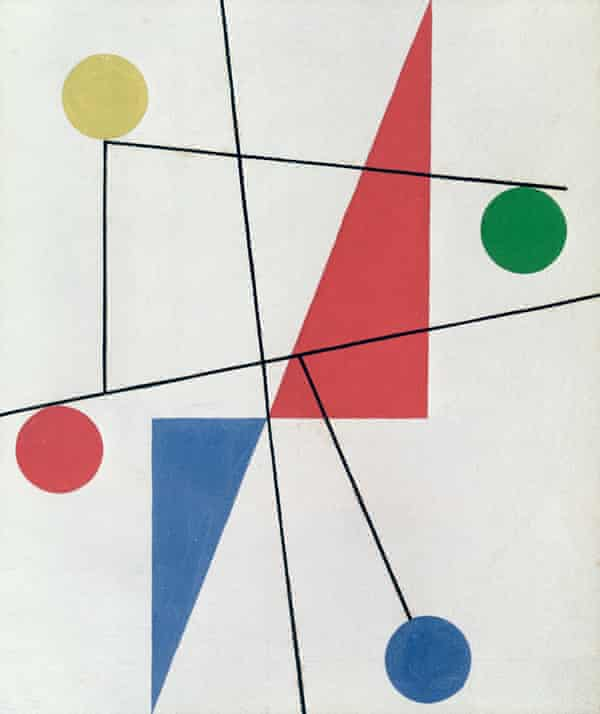 Untitled by Sophie Taeuber-Arp, 1932.