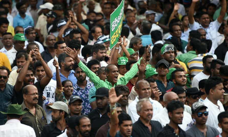 Supporters of ousted Sri Lankan prime minister Ranil Wickremesinghe fear abuses under his predecessor could now be forgotten.