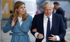 PM and Carrie Symonds