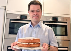 James Brokenshire and his two double ovens