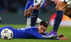 Chelsea FC v Paris Saint-Germain - UEFA Champions League<br>LONDON, ENGLAND - MARCH 09:  Eden Hazard of Chelsea during the UEFA Champions League match between Chelsea and Paris Saint-Germain at Stamford Bridge on March 9, 2016 in London, United Kingdom.  (Photo by Catherine Ivill - AMA/Getty Images)