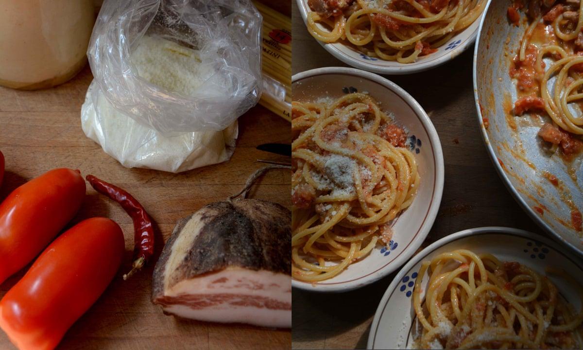 Ricetta Amatriciana Max.Rachel Roddy S Recipe For Pasta All Amatriciana Food The Guardian