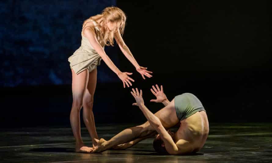 Vyacheslav Lopatin and Anastasia Stashkevich in Faun.