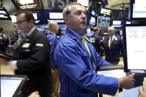 James L:amb<br>Trader James Lamb, center, works on the floor of the New York Stock Exchange Thursday, Aug. 27, 2015. U.S. stocks are opening higher after China's main stock index logged its biggest gain in eight weeks. A report also showed that the U.S. economy expanded at a much faster pace than previously estimated. (AP Photo/Richard Drew)