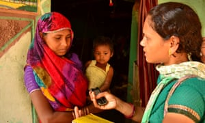 CommCare is supporting community nutrition educators in Madhya Pradesh, India.