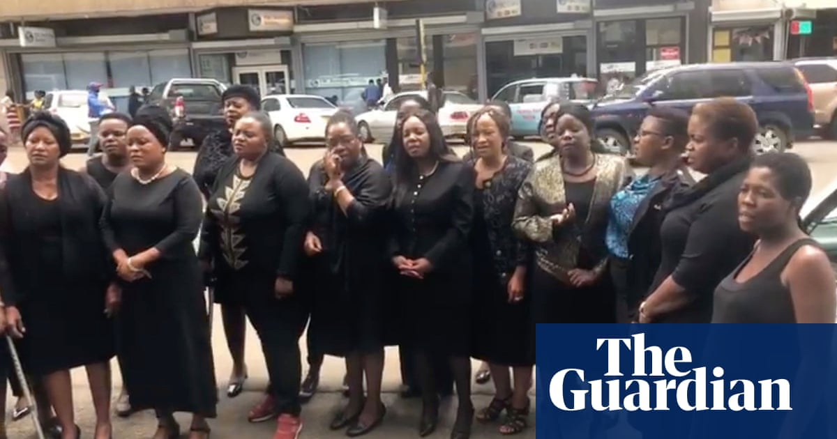 Women in Zimbabwe demand action over alleged army rapes | Global