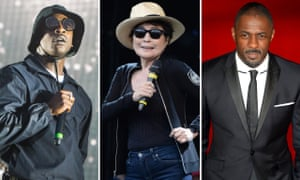 Skepta, Yoko Ono and Idris Elba, the first announcements for Manchester International festival 2019.
