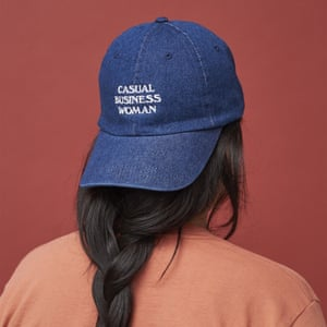 The Wing's 'casual business woman' cap.
