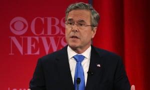 Jeb Bush wearing glasses.