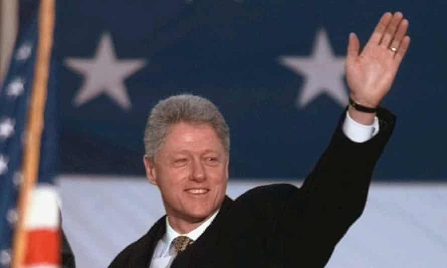 President Clinton in 1998.