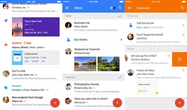 Seven of the best email apps for smartphones | Technology | The Guardian