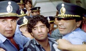 Diego Maradona in March 1994