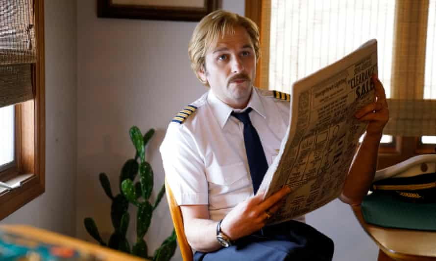 Up, up and away … Philip pilots a new identity in season five.