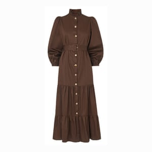 Brown dress, £145, kitristudio.com.
