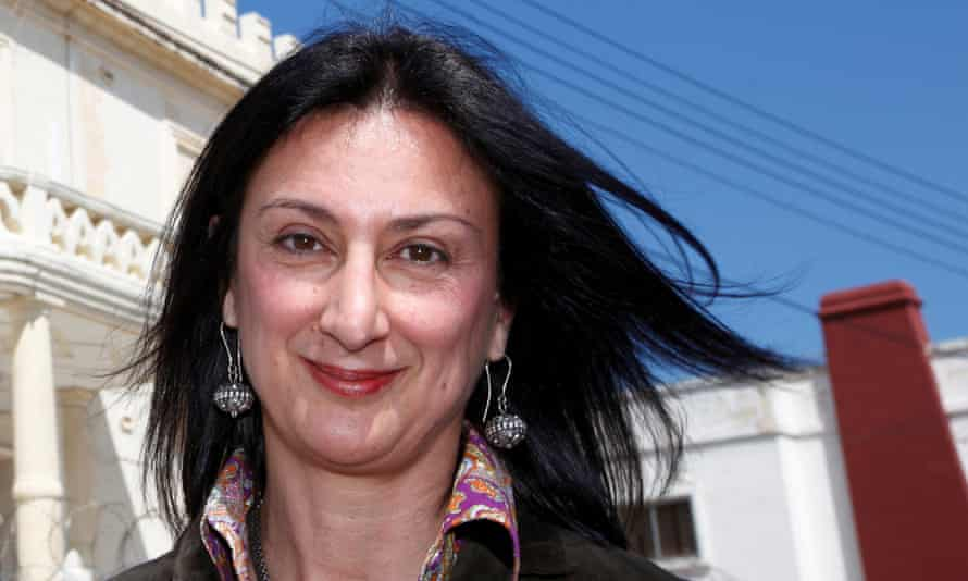 Daphne Caruana Galizia was killed by a car bomb after exposing corruption.