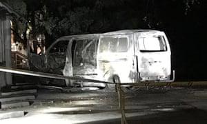 The Australian Christian Lobby's head office after the explosion