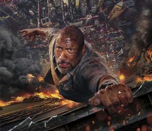Dwayne Johnson in forthcoming film Skyscraper.