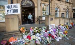 Batley town hall on Thursday.