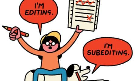 Nav and Newshound editing and subediting