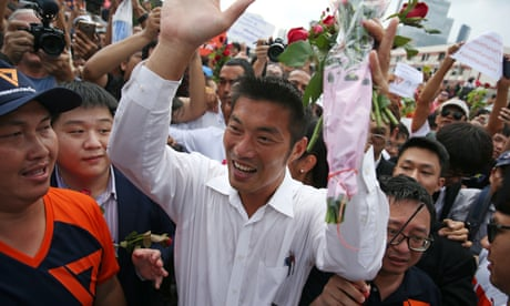 Thailand: party leader charged with sedition after strong poll showing