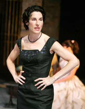 Tamsin Greig as Beatrice in Much Ado About Nothing at Stratford's Swan theatre in 2006.