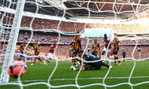 Aaron Ramsey scored the winning goal in extra time for Arsenal against Hull City in the 2014 FA Cup final